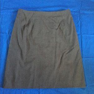 H&M's charcoal gray skirt